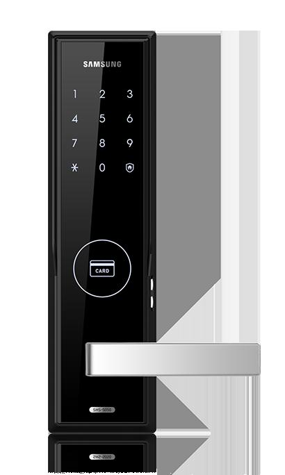 Samsung Digital Lock Push Pull Bluetooth Fingerprint