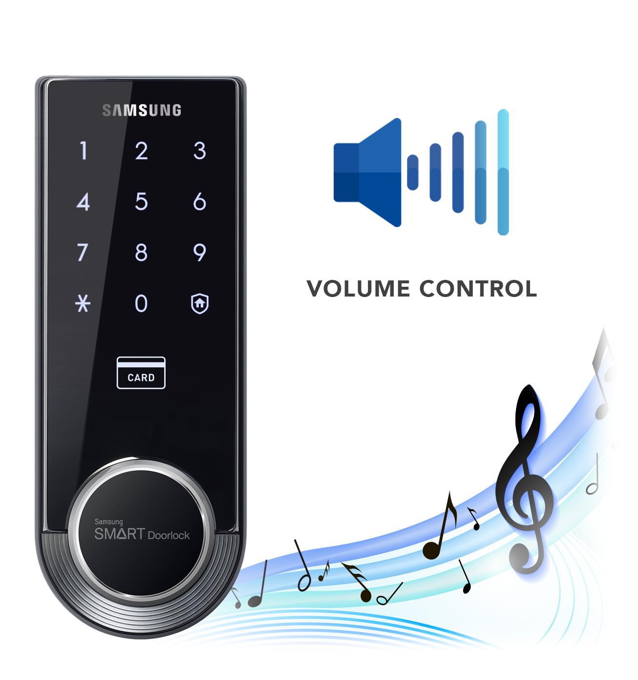 SHS-3321   SamsungDigitalLife   Samsung Digital Door Locks   Audio
