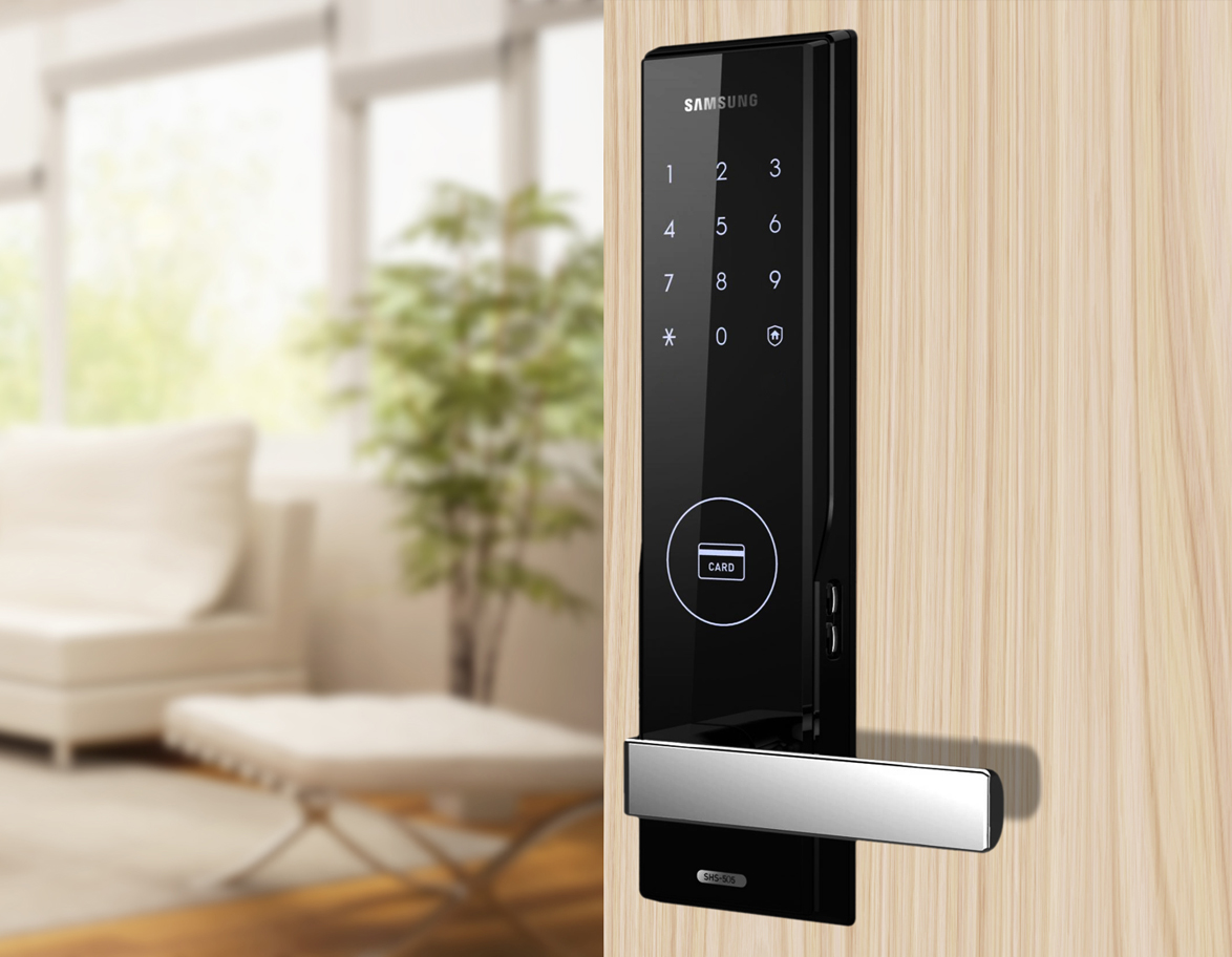 Shs H505 Samsungdigitallife Samsung Digital Door Locks