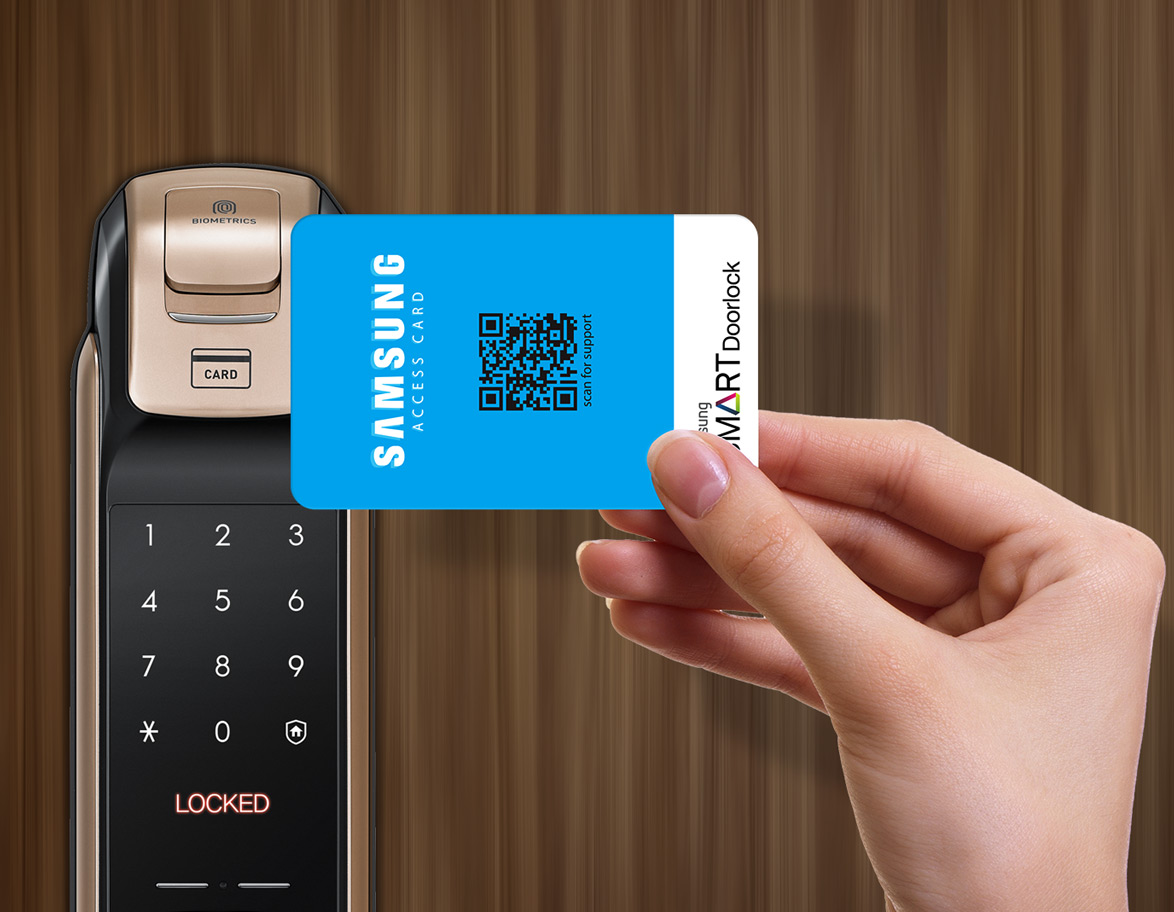 Rfid Access Card Samsung Digital Door Lock