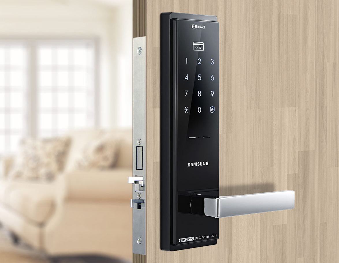 Shp Dh525 Samsungdigitallife Samsung Digital Door