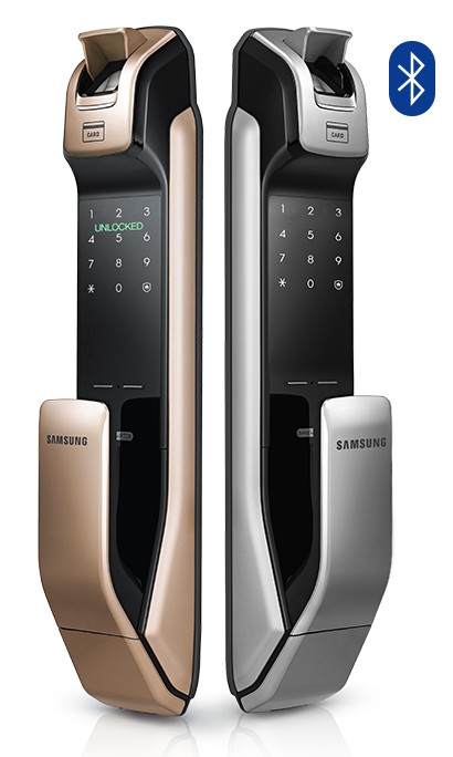 SHP-DP728, World 1st Biometric PUSH PULL door lock, Samsung Digital Door Lock, Samsung SHP-DP728
